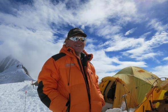 Ken Chlouber on Mount Manaslu, Nepal in 2012.  Photo: John Hill, The Denver Post)