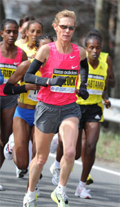 2009 Boston Marathon, photo: runwashington.com