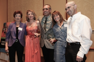 From left: Priscilla Welch, Constantina Dita, Rick Trujillo, Ana Ortiz and Simon Gutierrez