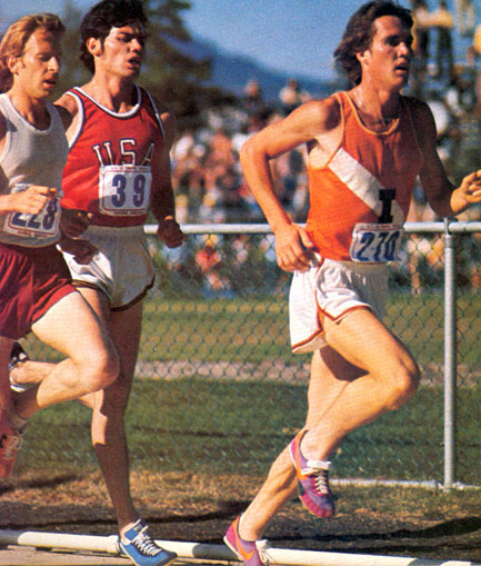 10,000m race at the 1976 Olympic trials (#39).  Photo: juanjosemartinez.com